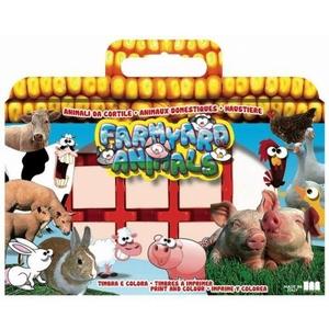 Pieczątki Zwierzęta Farma - Multiprint