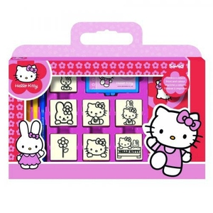 Pieczątki Hello Kitty Walizka - Multiprint