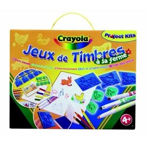 Zestaw Stempelków Farma - Crayola