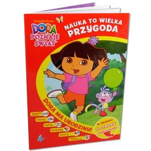 Dora Poznaje Świat. Nauka To Wielka Przygoda. Dora Ma Urodziny - Egmont