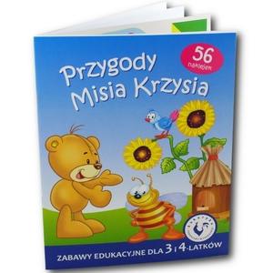 Książka Przygody Misia Krzysia - Ami Play