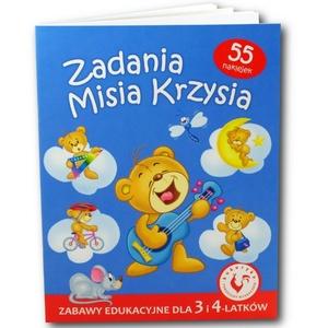 Książka Zadania Misia Krzysia - Ami Play