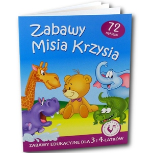 Książka Zabawy Misia Krzysia - Ami Play