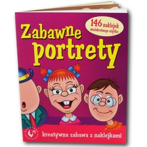 Książka Zabawne Portrety - Ami Play
