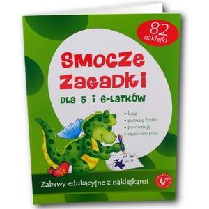 Smocze Zagadki Dla 5 i 6-latków - Magdalena Kuczyńska