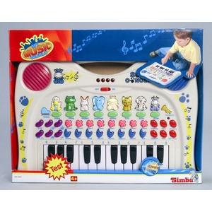 Interaktywne Pianinko Organki Ze Zwierzątkami - Simba
