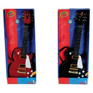 Gitara Rockowa Z Metalowymi Strunami - Simba