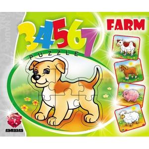 Puzzle 3, 4, 5, 6, 7 Elementów Farma - Maxim