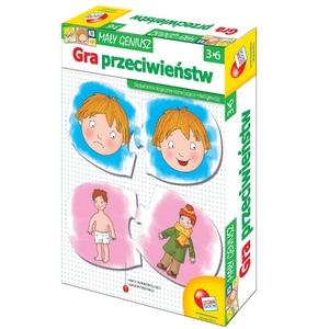 Mały Geniusz Gra Przeciwieństw - Liscianigiochi