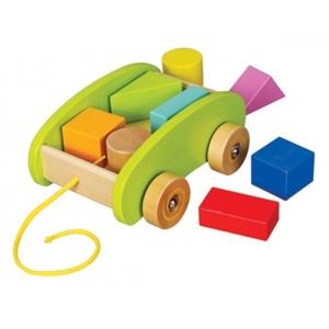 Mały Wózek Z Klockami - Educo