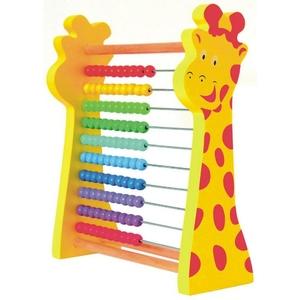Tęczowe Liczydło Żyrafa - Woodyland