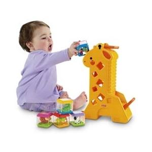 Żyrafa Pełna Klocków - Fisher Price