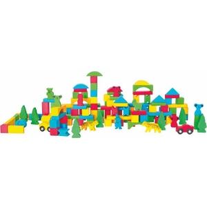 Zestaw Kolorowych Klocków - Woodyland