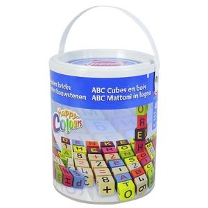 Drewniane Klocki ABC 40 Elementów - Heros
