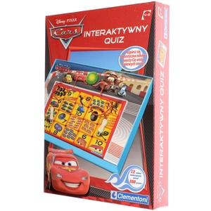 Gra Quiz Interaktywny Cars - Clementoni