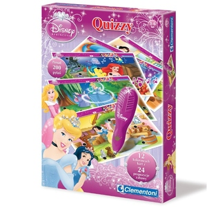 Gra Quizzy Księżniczki - Clementoni