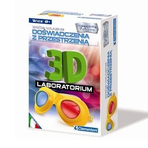 Zestaw Laboratorium 3D - Clementoni