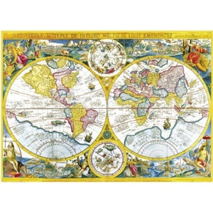 Mapa 4000 Elementów - Clementoni