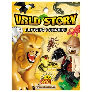 Wild Story Figurka Z Akcesoriami - Cobi