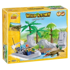 Wild Story Tajemnicza Wyspa 150 Kl. - Cobi