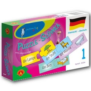 Puzzle-Słówka Niemieckie: Dom