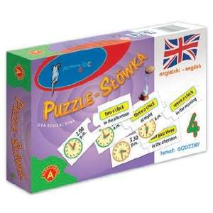 Puzzle-Słówka Angielskie: Godziny - Alexander