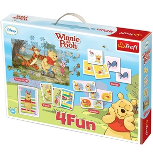 Gra 4 Fun Kubuś Puchatek - Trefl