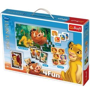 Gra 4 Fun Król Lew - Trefl