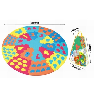 Puzzle Piankowe Kolorowe Koło - Axiom