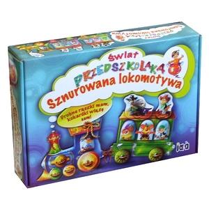 Gra Sznurowana Lokomotywa Świat - Jawa