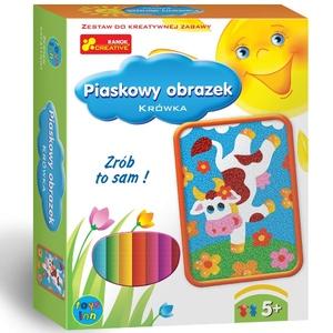 Piaskowe Obrazki Krówka - RANOK