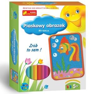 Piaskowe Obrazki Rybka - RANOK