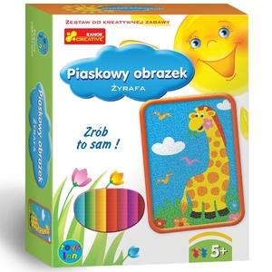 Piaskowe Obrazki Żyrafa - RANOK
