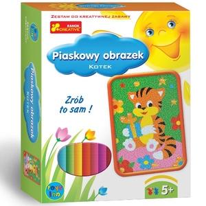 Piaskowe Obrazki Kotek - RANOK