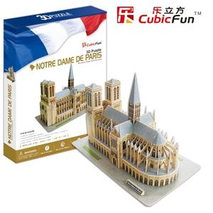 Puzzle 3D Notre Dame De Paris - Cubic Fun