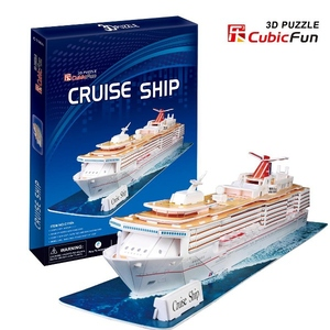 Puzzle 3D Cruise Ship - Cubic Fun