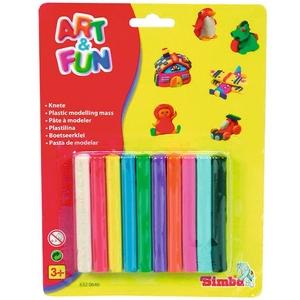 Art&Fun Plastelina 10 Kolorów - Simba