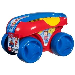 Niebieski Wózek Z Klockami - Mega Bloks