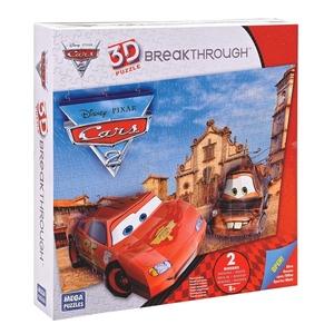Puzzle 3D Disney Cars Poziom 2 - Mega Bloks