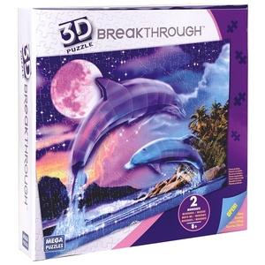 Puzzle 3D Delfiny Poziom 2 - Mega Blocks