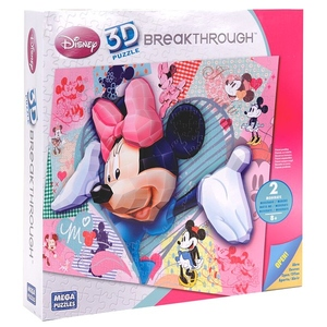 Puzzle 3D Minnie Poziom 2 - Mega Blocks