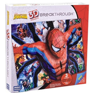 Puzzle 3D Spiderman Poziom 3 - Mega Blocks