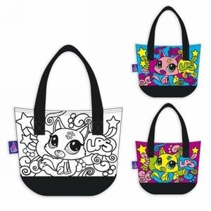 Torebka Littlest Pet Shop Do Malowania - Starpak