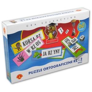 Puzzle Ortograficzne Rz I Ż Maxi - Alexander