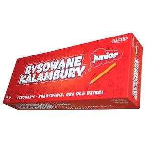 Gra Rysowane Kalambury Junior - Tactic