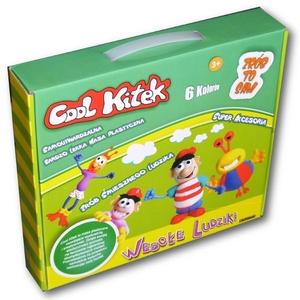 Cool Kitek Masa Plastyczna Wesołe Ludziki - Sellmar