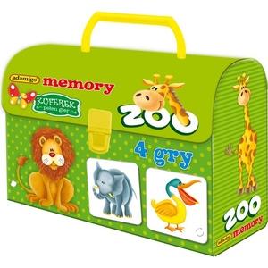 Gra Kuferek Zoo Memory - Adamigo