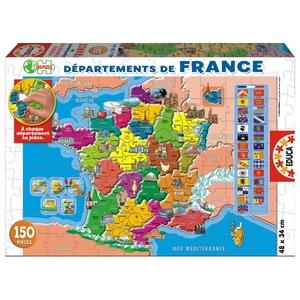 Puzzle 150 El. Departaments La France - Educa
