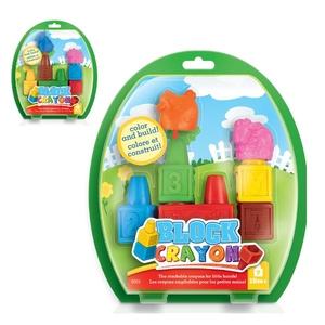 Block Crayon Zestaw Farma 7 Kredek - WOOKY