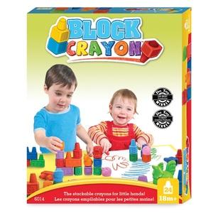 Block Crayon Zestaw Farma 12 Kredek - Wooky